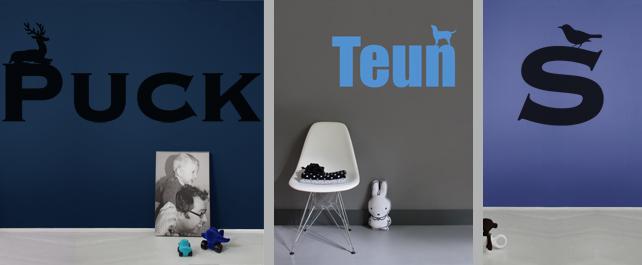 Naambordjes Slaapkamerdeur : Studio Haikje Kvk nr 24368612 Info ...