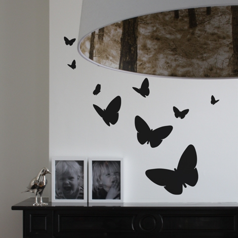 Interieurstickers Butterfly mix