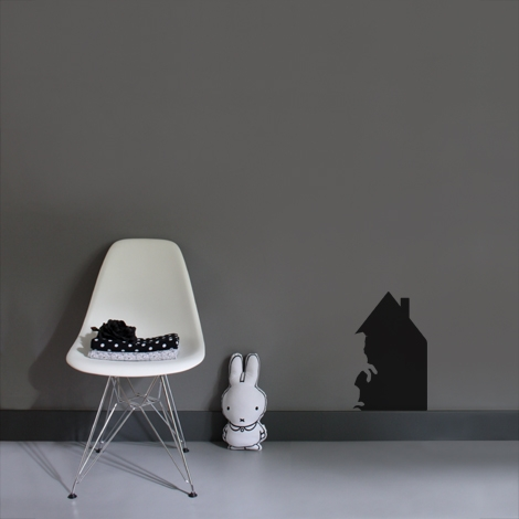Interieurstickers House without rabbit