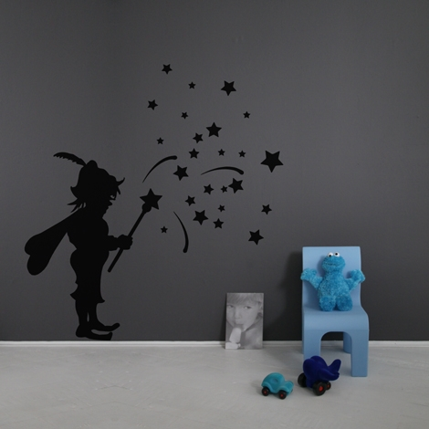 Interieurstickers Fairy boy