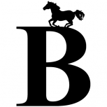 Horse on letter detail-adbeelding 4