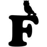 Owl on letter detail-adbeelding 4