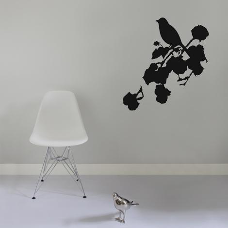 Interieurstickers Romantic bird