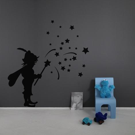 Interieurstickers Fairy boy