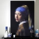 Meisje van Vermeer M detail-adbeelding 2