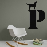 Dog on letter detail-adbeelding 3