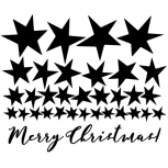 Merry Christmas Stars set detail-adbeelding 3